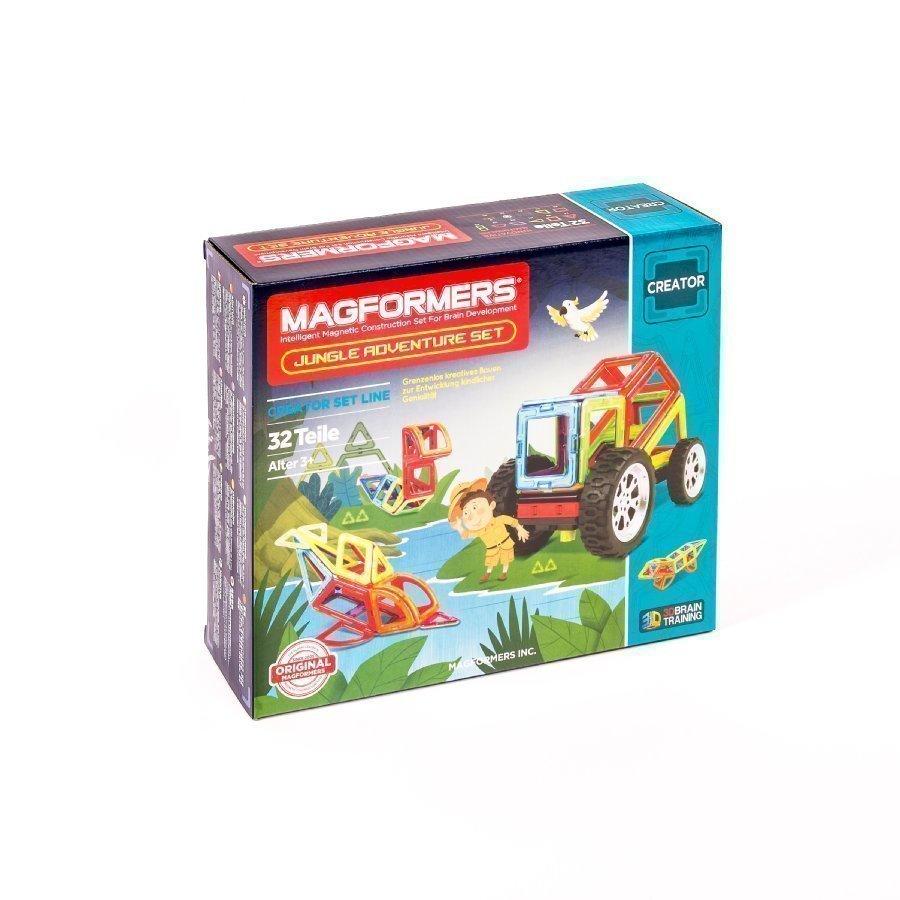 Magformers Jungle Adventure Setti