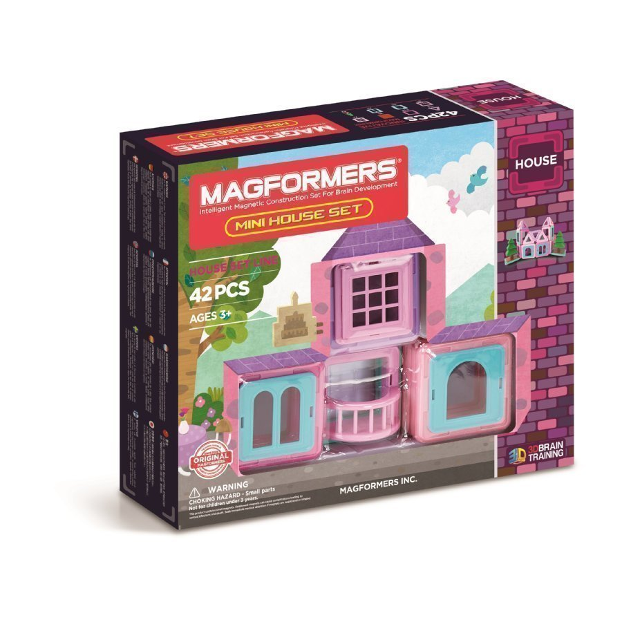 Magformers Mini House 42 Setti