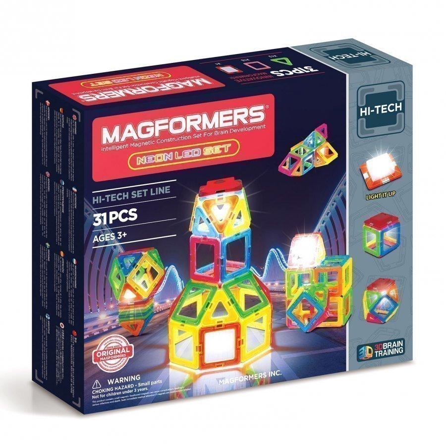 Magformers Neon Led Set Rakennuspalikat