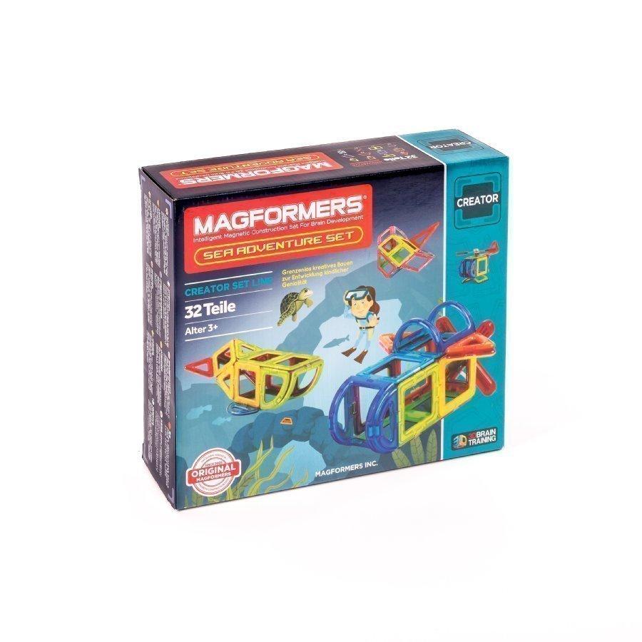 Magformers Sea Adventure Setti
