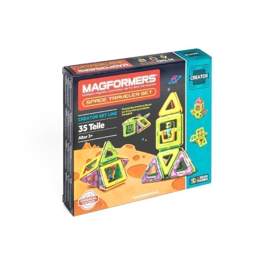 Magformers Space Traveller Setti