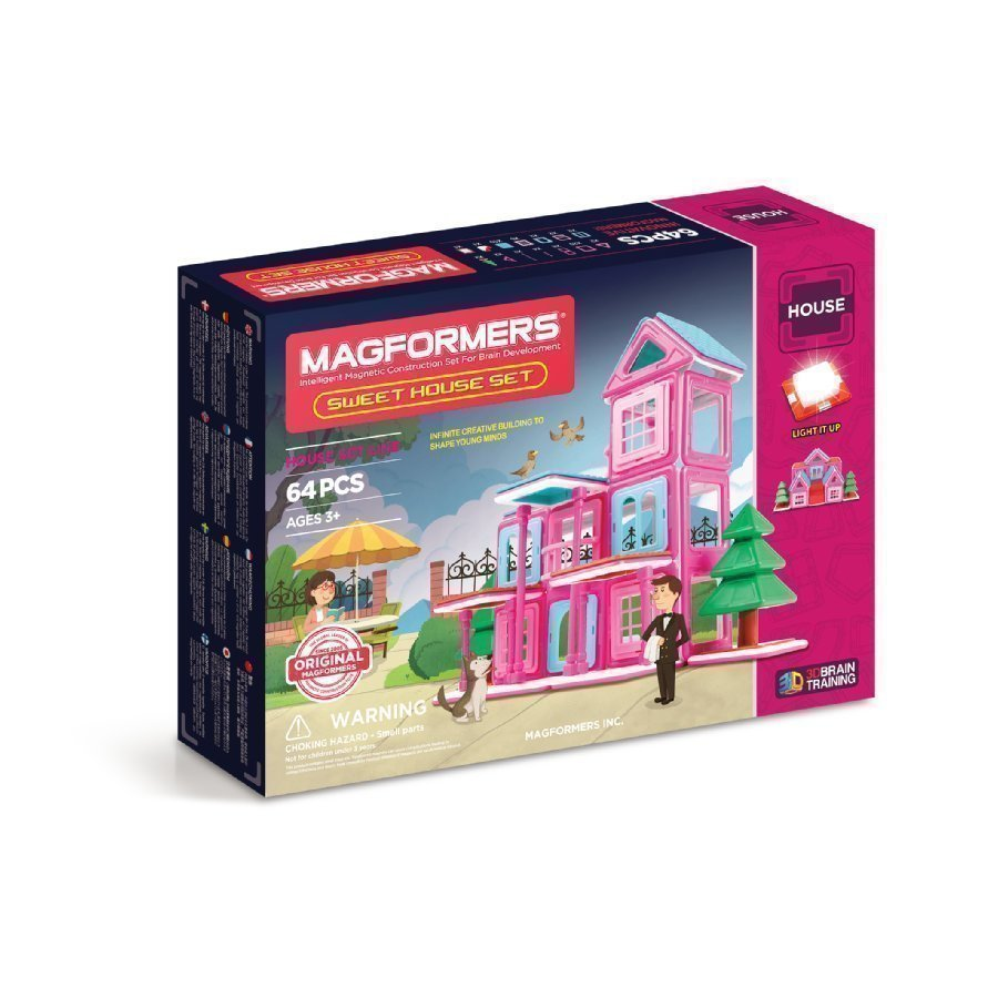Magformers Sweet House Setti