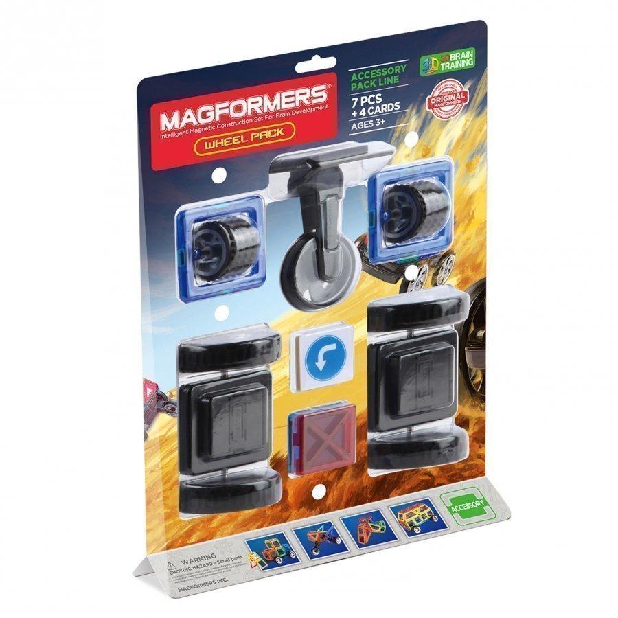 Magformers Wheel Pack 7 Piece Set Rakennuspalikat