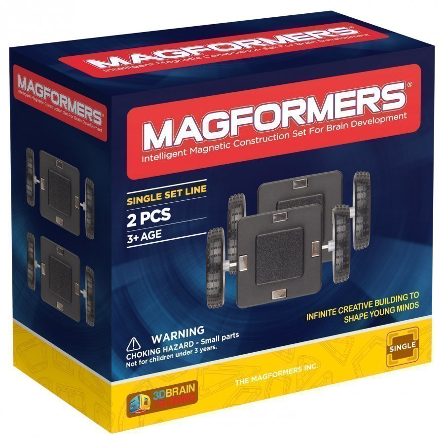 Magformers Wheels 2 Piece Set Rakennuspalikat