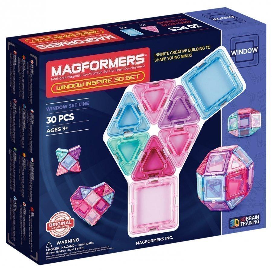 Magformers Window Inspire Solid Clear 30 Piece Set Rakennuspalikat