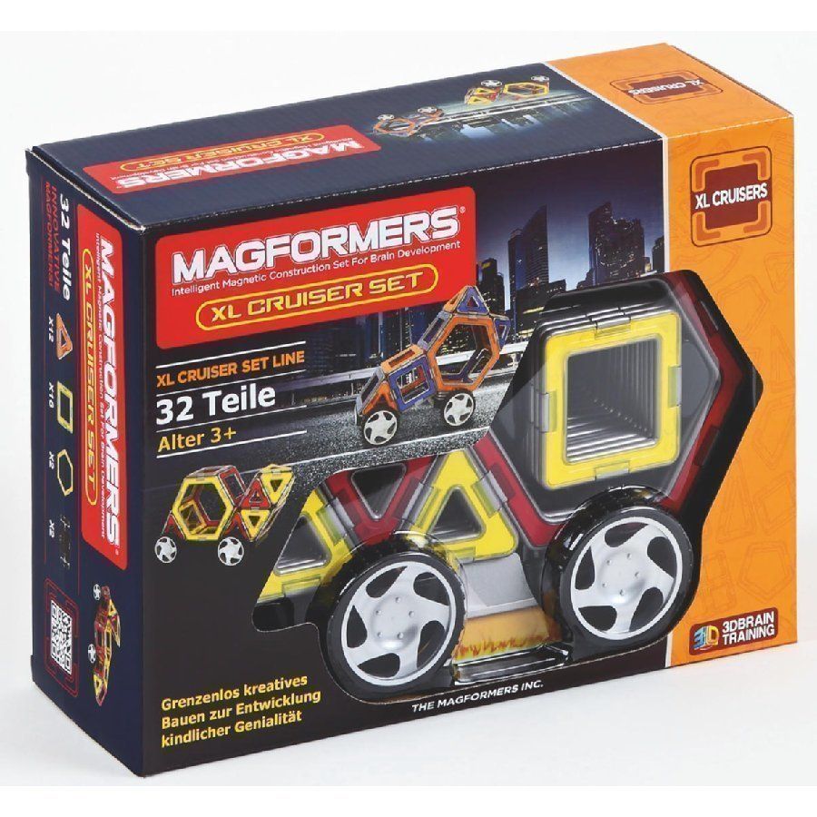 Magformers Xl Cruisers Car Setti