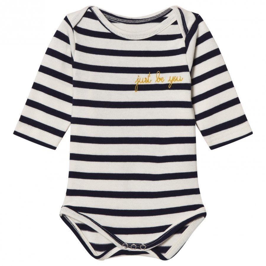 Maison Labiche Just Be You Embroidered Long Sleeve Baby Body