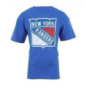 Majestic Logo Tee Junior Urheilullinen T-paita Sininen