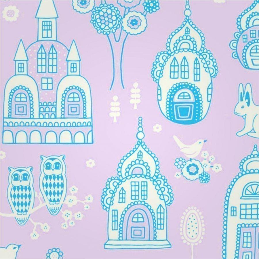 Majvillan Wallpaper Slottsträdgården Pur Tapetti