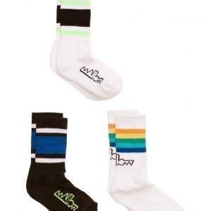 Mallow Olli Tube Socks 3-Pack