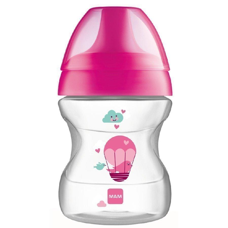 Mam Harjoittelupullo 190 Ml Learn To Drink Cup Fashion 6+ Kk Pinkki