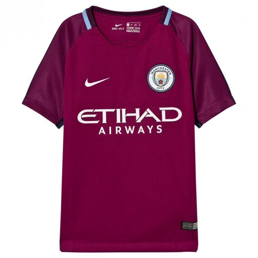 Manchester City Fc Away T-Shirt Jalkapallopaita