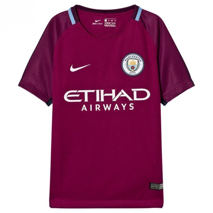 Manchester City Fc Away T-Shirt Jalkapallopaita