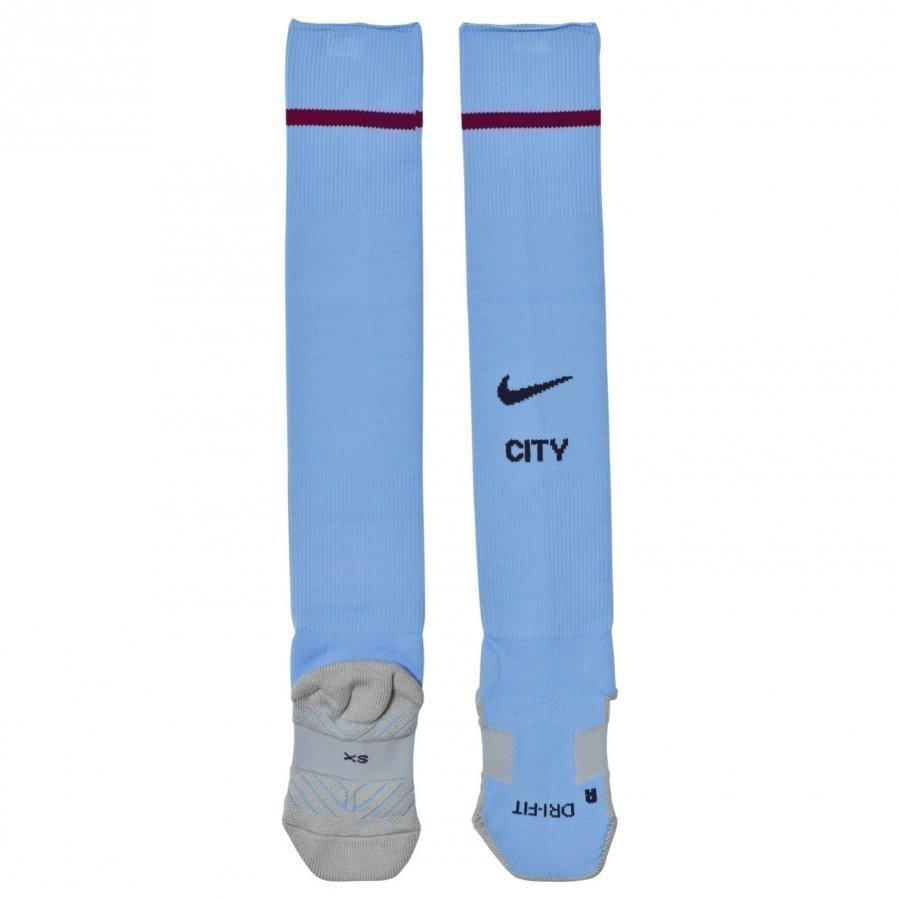 Manchester City Fc Blue Home Socks Jalkapallosukat