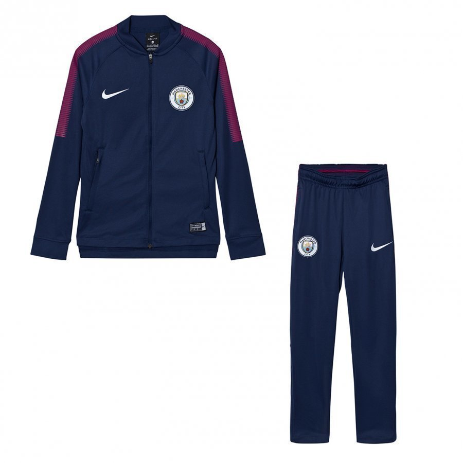 Manchester City Fc Junior Dry Squad Tracksuit Jalkapalloasu