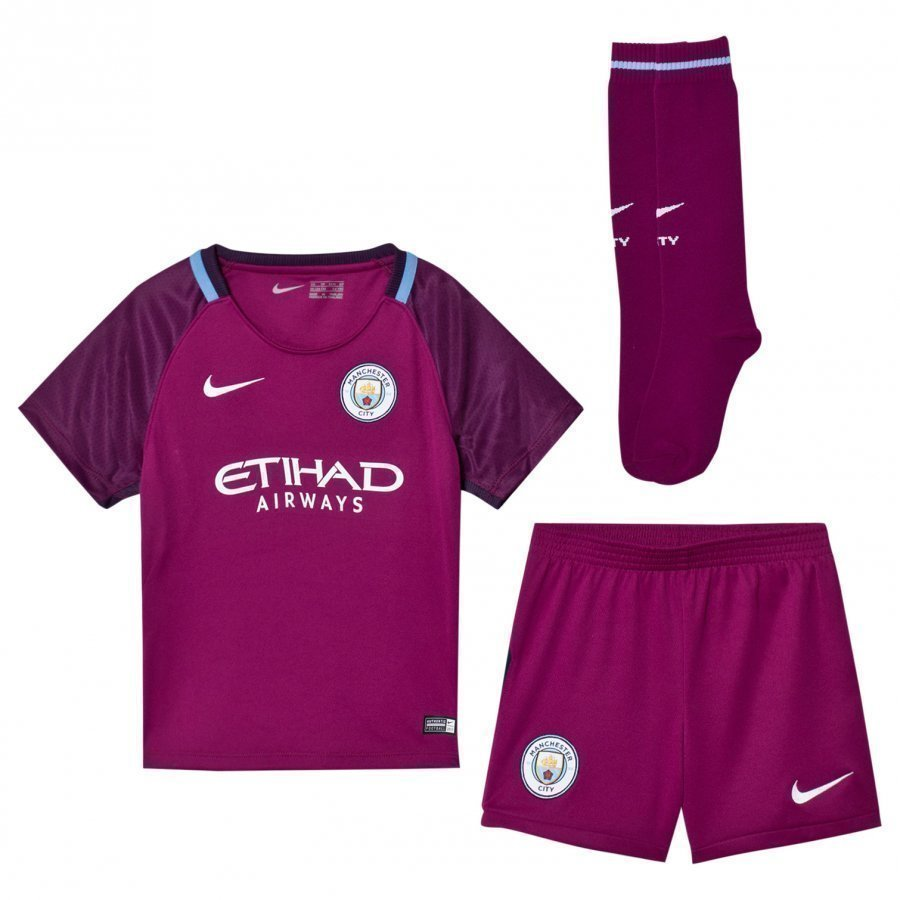 Manchester City Fc Kids Away Soccer Kit Jalkapalloasu