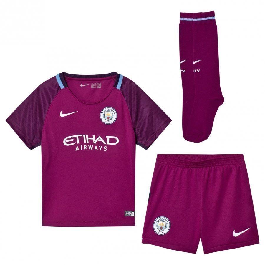 Manchester City Fc Kids Away Soccer Kit Jalkapalloasu
