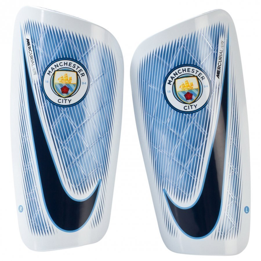 Manchester City Fc Lite Shin Guards Säärisuojat