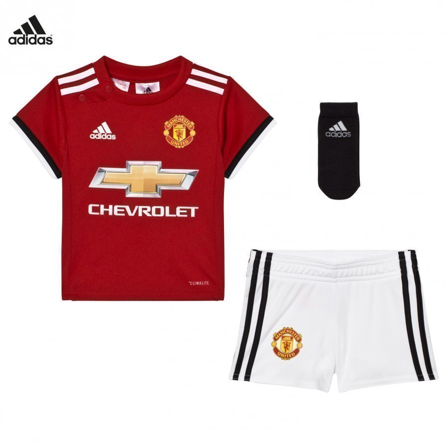 Manchester United Fc ´17 Baby Home Set Jalkapalloasu