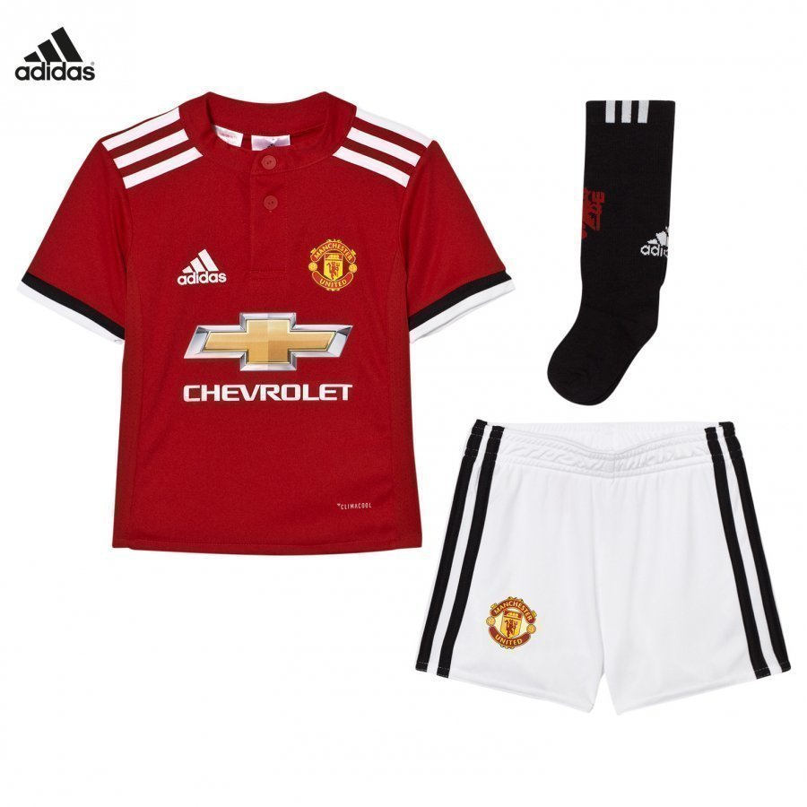 Manchester United Fc ´17 Kids Home Set Jalkapalloasu