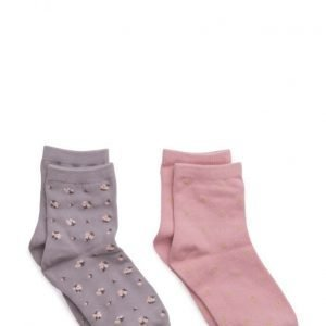 Mango Kids 2 Pack Printed Socks