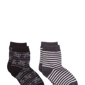 Mango Kids 2 Pack Striped Socks
