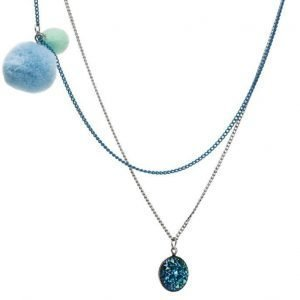 Mango Kids Beaded Double Necklace