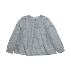 Mango Kids Beaded Stripes Blouse