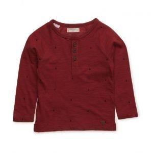 Mango Kids Buttoned Cotton T-Shirt