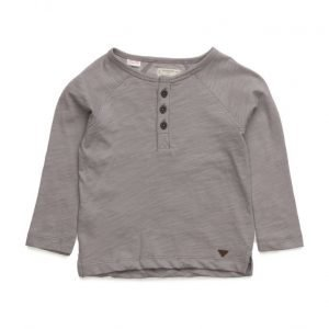 Mango Kids Buttoned Cotton T-Shirt