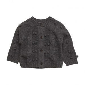 Mango Kids Buttoned Wool Cardigan