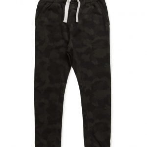 Mango Kids Camo-Print Jogging Trousers