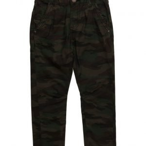 Mango Kids Camo-Print Trousers