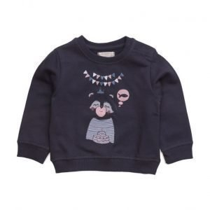 Mango Kids Cartoon Cotton Sweatshirt