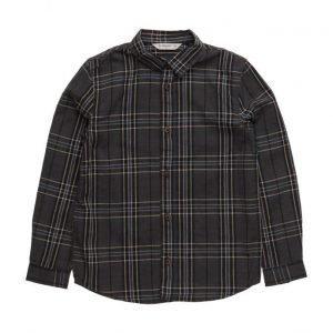 Mango Kids Check Cotton Shirt