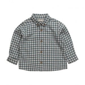 Mango Kids Check Cotton Shirt