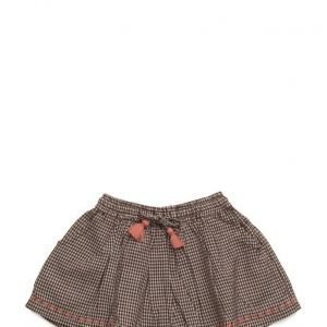Mango Kids Check Cotton Skirt