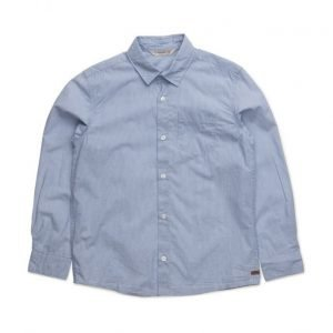 Mango Kids Chest-Pocket Cotton Shirt