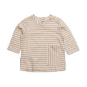 Mango Kids Chest-Pocket Striped T-Shirt