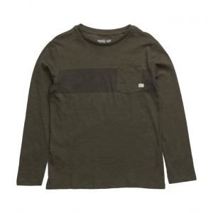 Mango Kids Contrast Panel T-Shirt