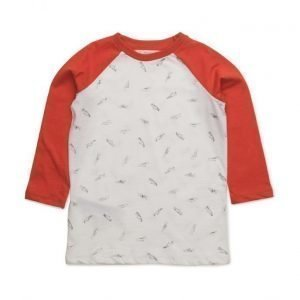 Mango Kids Contrasting Cotton-Blend T-Shirt