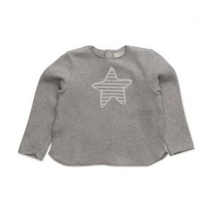 Mango Kids Cotton-Blend Knit Sweatshirt