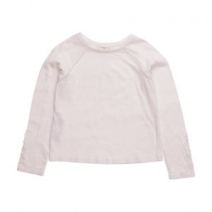 Mango Kids Cotton Trim T-Shirt