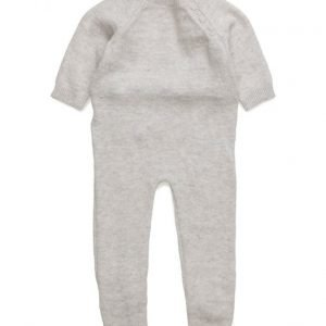Mango Kids Cotton Wool-Blend Dungarees