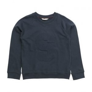Mango Kids Embroidered College Sweatshirt