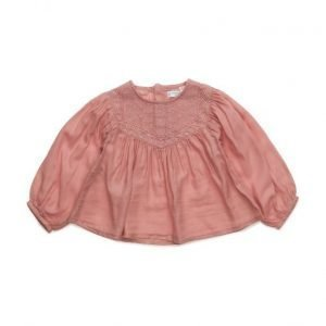 Mango Kids Embroidered Cotton Blouse