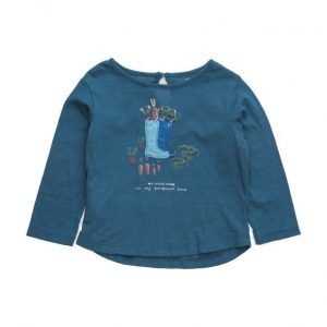 Mango Kids Embroidered Cotton T-Shirt