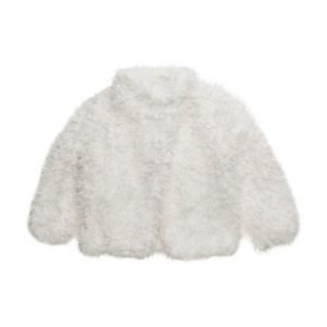 Mango Kids Faux Fur Coat