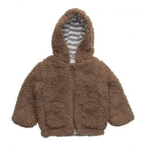 Mango Kids Faux-Shearling Bomber Jacket