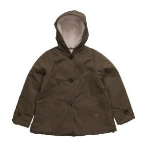 Mango Kids Faux Shearling Coat